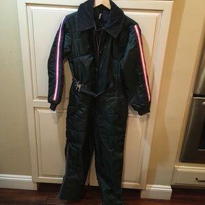 Vintage 60s 70s ski-suit m